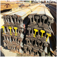 Railroad 18kgs/mtr Light Steel Train Rail manufacturer in China