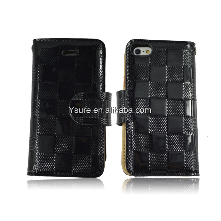 2014 new products PU leather phone case for Iphone4/4s/iphone 5s