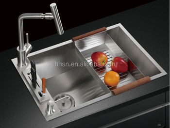 Hot sell Undermount 304 Stainless Steel Kitchen Sink