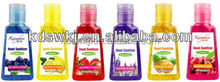 Green and natural ingredients waterless Hand sanitizer