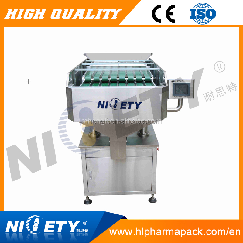 Dried fruit counting and filling into bags machinery