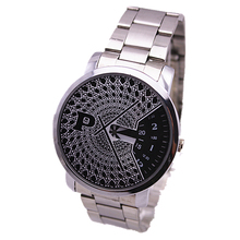 Special paidu mesh watch alloy band turntable dial men luxury japan movement women fashion quartz watch