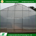 Factory custom smooth surface heating system metal frame greenhouse