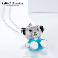 T400 fashion jewelry Little Bear shaped sweather chain wholesale