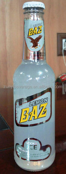 Lemon Flavored 275ml glass bottle Cocktail Drinks