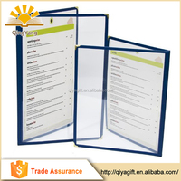 Hot Selling High Quality Low Price Custom Cafe Style Menu Cover