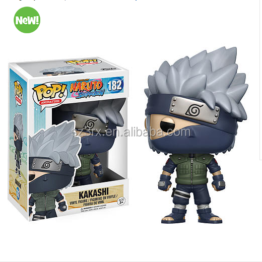make your own design plastic vinyl figure for promotion/custom pop Naruto vinyl toy factory