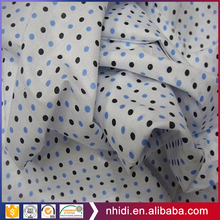 Hebei Nhidi Wholesale Textile 135gsm Cotton Printed Dot Fabric Pocketing