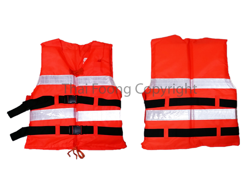 Reflective Orange Life Jacket