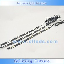 Battery powered led strip lights for cars SMD5050 30CM/Piece IP65 Waterproof