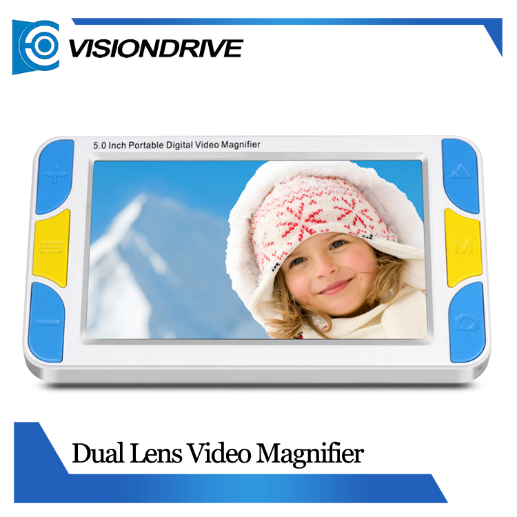 KSAD VD500 Magnfiier Manufacturer visually impaired vision aids with 5.0 inch screen enlarger