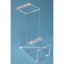 Clear Hinged -Top Gravity Feed Bulk Dispensers C101009