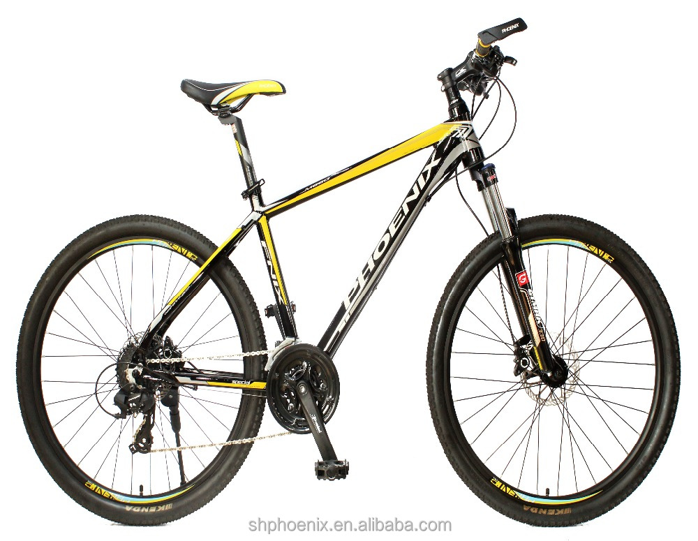 "PHOENIX MOUNTAIN BICYCLE YE16S2605DP BIKE 26""ALLOY FRAME, SEMI ALLOY FRONT FORK, ZOOM DISC BRAKE, SHIMANO 24 SPEED MTB"