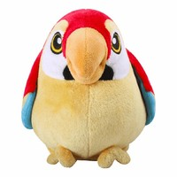 CE test talking parrot toys battery operated