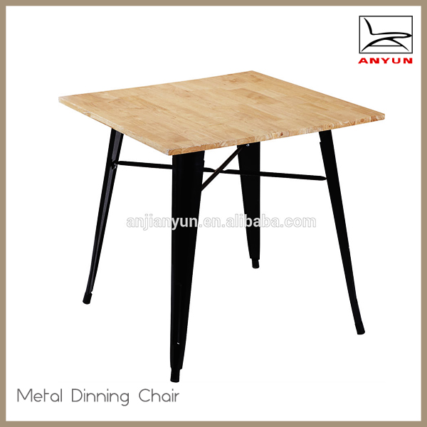 Popular good quality wooden dining room table set