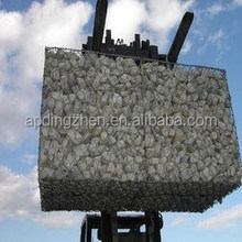 best price 120*150mm 0.5*1*1m green PVC coated gabion basket retaining wall For uae,india sale