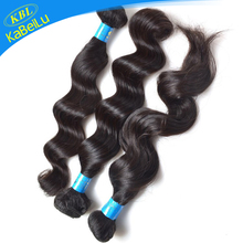 KBL 5a brazilian loose wave human hair extensions