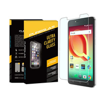 Magic Glass Film automatic absorb custom cut tempered glass screen protectors for Alcatel A50
