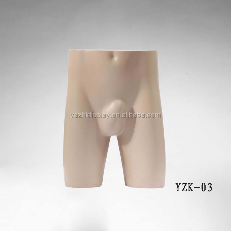 Fashion Half Body Torso Male Hip Mannequins For Sale