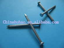 Flat head galvanzied concrete nails