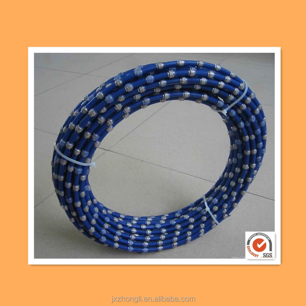 Artificial Diamond wire,saw chain cutting rope and diamond wire saw for quarry stone cutting machine