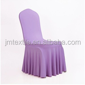 wedding banquent hotel home garden ruffled skirt spandex chair cover