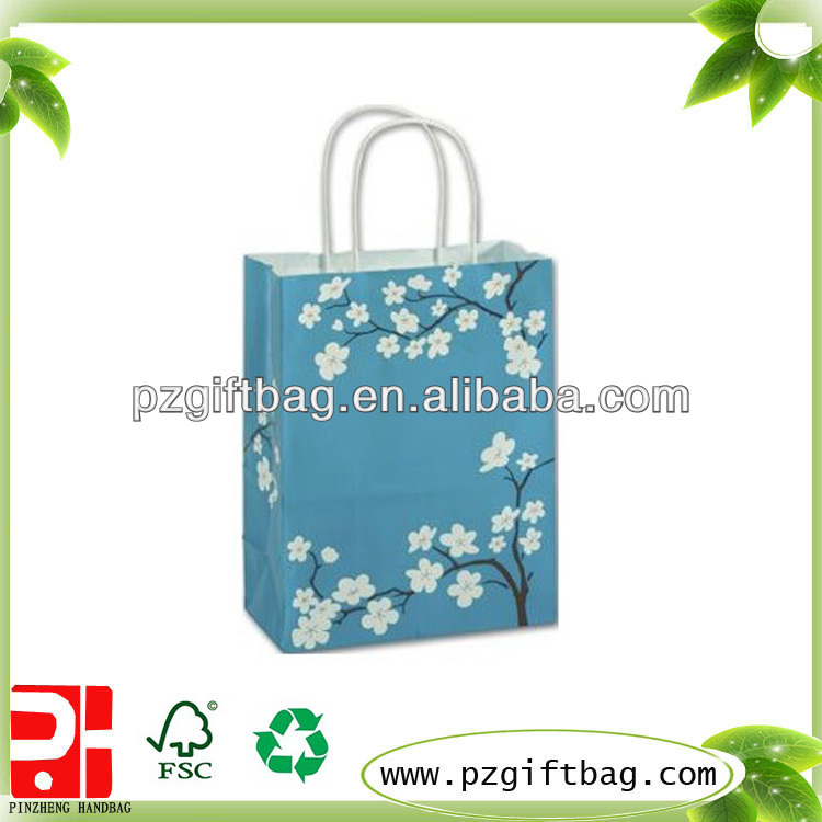 Blooming Beauty shopping bag for packing
