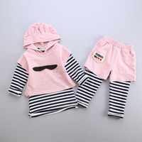 Yiwu Kids Garment Market Baby Toddler Clothes Of Fall Outfits Cotton Material