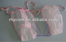 Disposable tanga for women