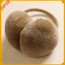 Wholesale Genuine Rabbit Fur Earmuffs For Winter