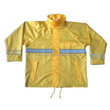 OEM Durable heavy duty polyester oxford breathable waterproof raincoat adult raincoat poncho rainsuit