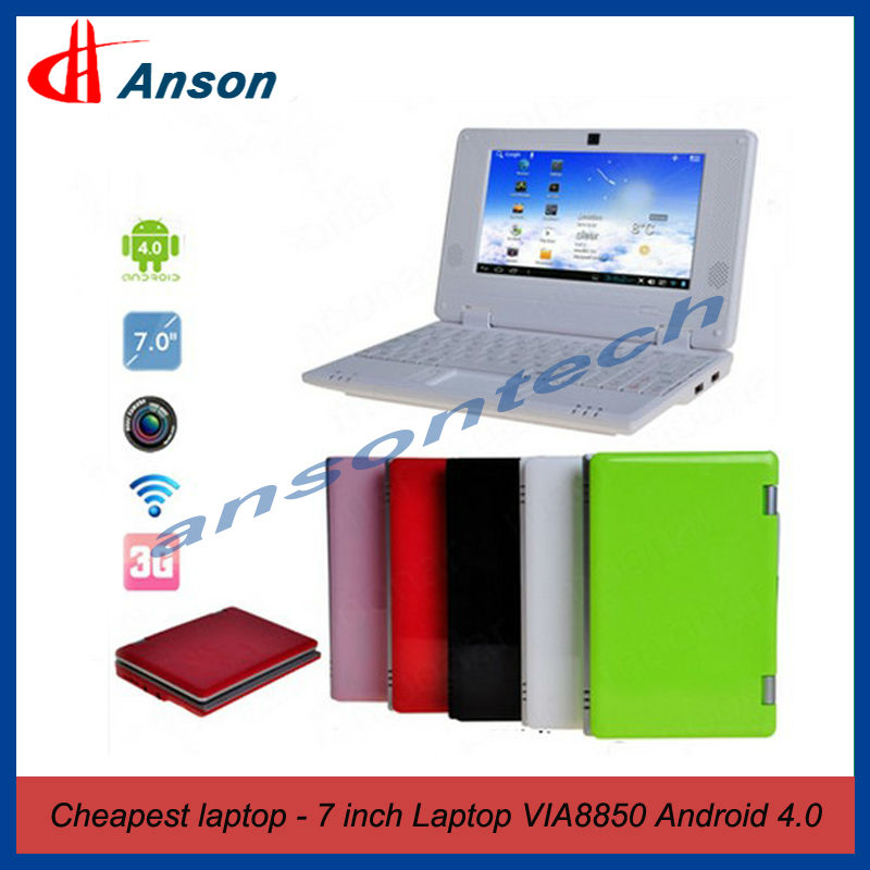 7 Inch DDR3 512MB 4GB Android 4.0 Mini Laptop