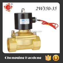 Normally closed brass 1 inch water 220 volt solenoid valve