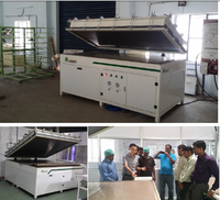 Ooitech Semi Automatic solar panel producer solar panel laminator,Solar panel laminating machine 2200*2200 2200*1100 1100*1100mm