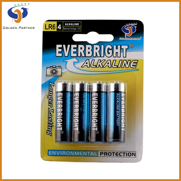 Alkaline Batteries AA LR6 1.5V/Battery Dry