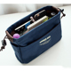 12oz cotton canvas drawstring women travel insert handbag organiser purse Large Liner Organizer Tidy Bag