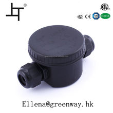 Round 24A 450VAC electrical pvc junction boxes
