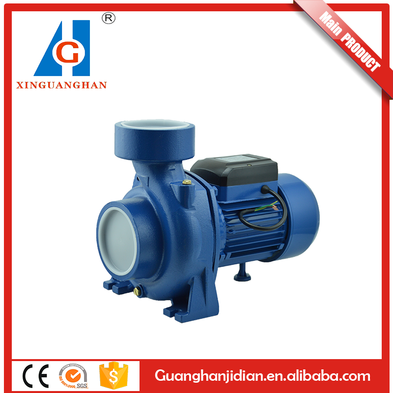 CP 4 inch big flow rate centrifugal water pump 4hp electric power max head 20m