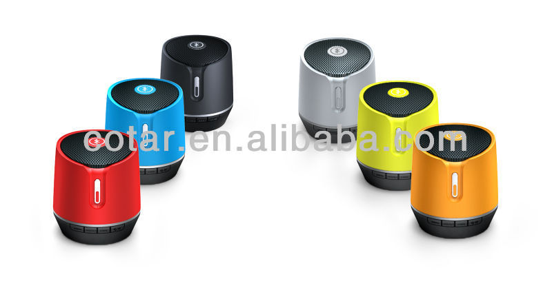 2013 New best quality portable mini bluetooth speaker with led flashlight