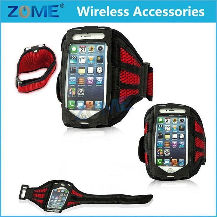 Running SPORT GYM Armband Case for iPhone 4 4S 5 5S/ SE Jogging Arm Band Mobile Phone Premium Bag Cover