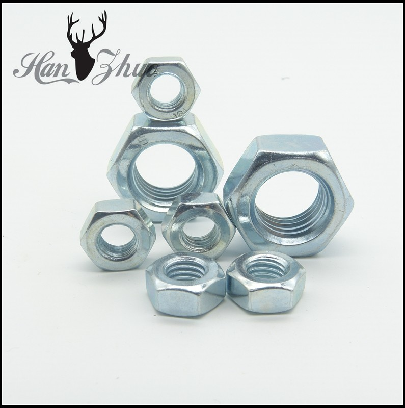 Stainless Steel SS304 and SS316 With Zinc Plated DIN934 Hex Nut