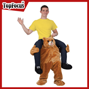 Wholesale 2016 Hotsale Adult Carry me Teddy Bear Costume