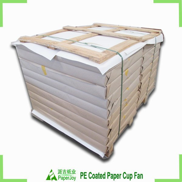 QS certified PE plastic coated cardboard sheets