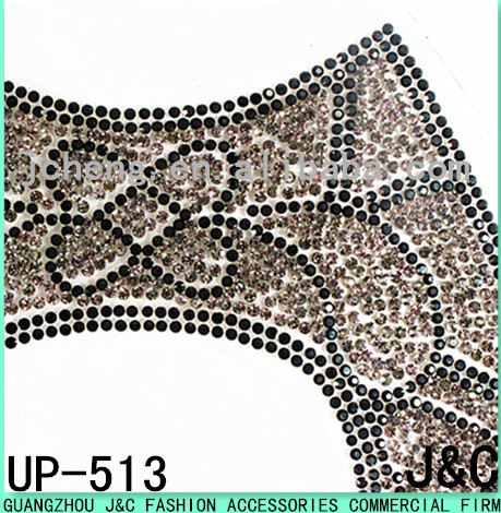 2016 beautiful lady shoes rhinestone uppers hot fix