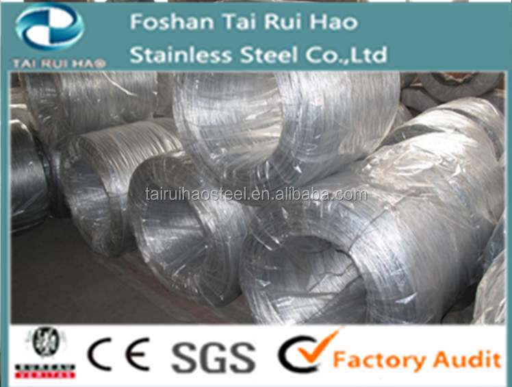 321 Stainless Steel Wire with Diameter from 0.05 to 20 mm