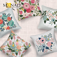 Monad modern flower and vase style wholesale decorative cushion covers