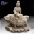 Wholesale custom large outdoor carving life size stone sculpture sitting white marble buddha statues for sale