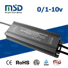 0-10V 12V 24V 60W 5A 2.5A Constant Voltage Dimmable LED Driver / Power supply