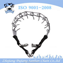 Wholesale Dog Chain Collars Cap Prong Ends Metal Dog Training Collar