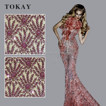 African embroidery high-class tulle lace fabric